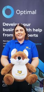Busy mum Sinead founder of Fox's Den after school day care club business and mentee on the OPTIMAL business growth programme