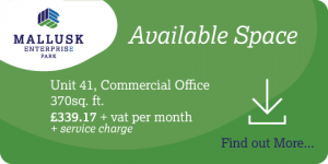 Available Space at Mallusk Enterprise Park